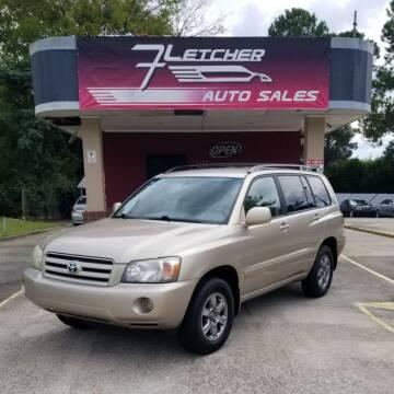 2005 Toyota Highlander for sale at Fletcher Auto Sales in Augusta GA