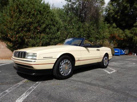 1993 Cadillac Allante for sale at California Cadillac & Collectibles in Los Angeles CA