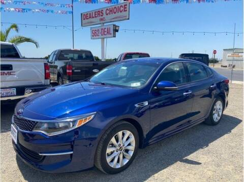 2018 Kia Optima for sale at Dealers Choice Inc in Farmersville CA