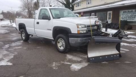2005 Chevrolet Silverado 2500HD for sale at Motor House in Alden NY