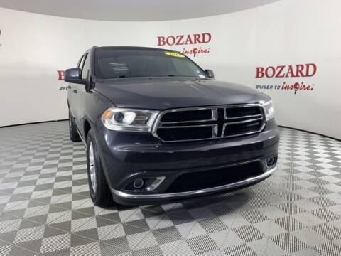 2015 Dodge Durango for sale at BOZARD FORD in Saint Augustine FL