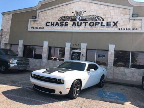 2015 Dodge Challenger for sale at CHASE AUTOPLEX in Lancaster TX