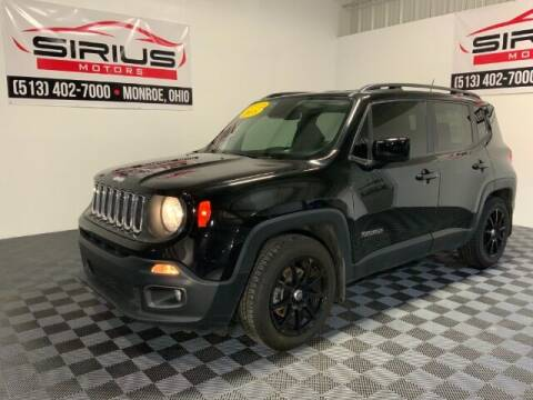 2018 Jeep Renegade for sale at SIRIUS MOTORS INC in Monroe OH