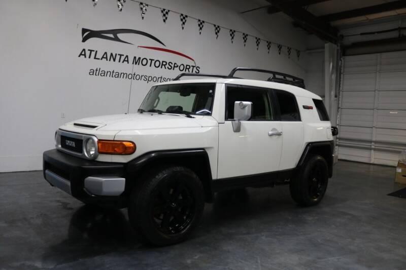 2014 Toyota FJ Cruiser for sale at Atlanta Motorsports in Roswell GA