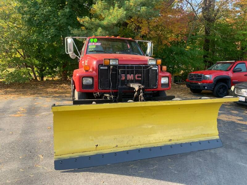 1990 GMC C7500 for sale at F&F Auto Inc. in West Bridgewater MA