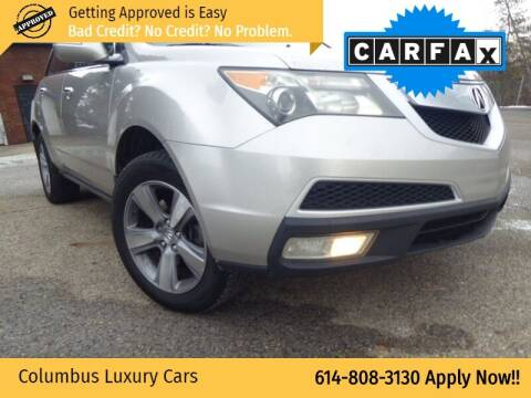 2011 Acura MDX for sale at Columbus Luxury Cars in Columbus OH