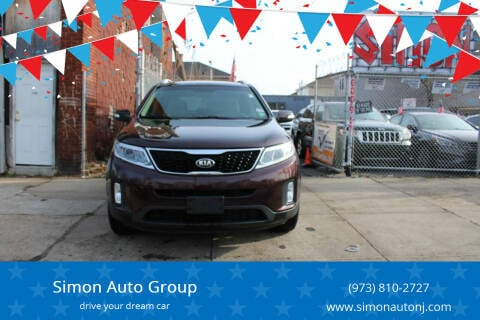 2014 Kia Sorento for sale at Simon Auto Group in Newark NJ