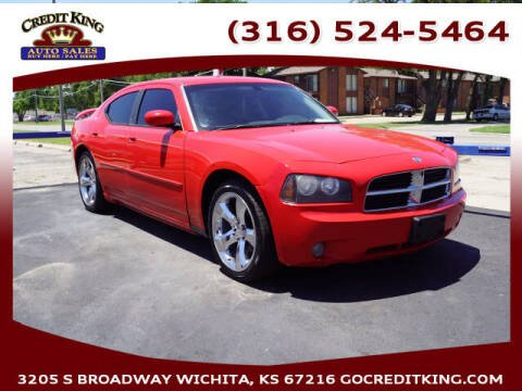 2010 Dodge Charger for sale at Credit King Auto Sales in Wichita KS