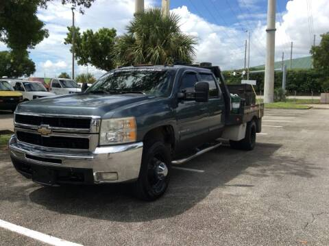 2009 Chevrolet Silverado 3500HD for sale at Tropical Motors Cargo Vans and Car Sales Inc. in Pompano Beach FL