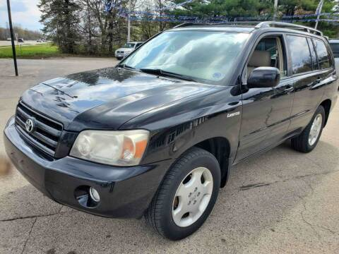 2005 Toyota Highlander for sale at Extreme Auto Sales LLC. in Wautoma WI