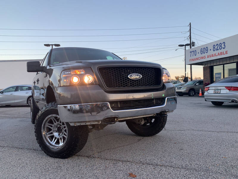 2005 Ford F-150 for sale at Trust Autos, LLC in Decatur GA