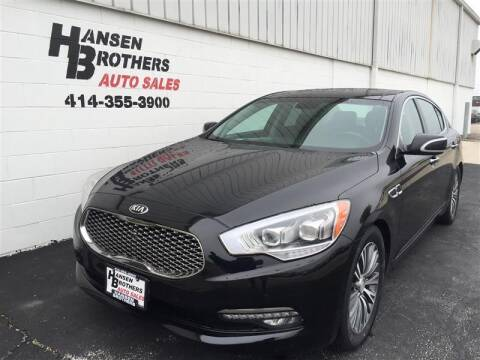 2016 Kia K900 for sale at HANSEN BROTHERS AUTO SALES in Milwaukee WI