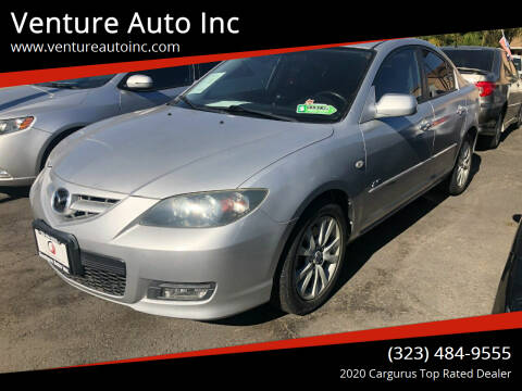 2008 Mazda MAZDA3 for sale at Venture Auto Inc in South Gate CA