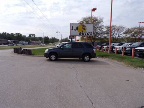 2009 Chevrolet Equinox for sale at L A AUTOS in Omaha NE