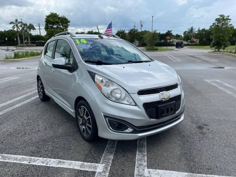 2014 Chevrolet Spark for sale at Alma Car Sales in Miami FL