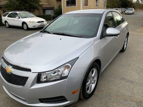 2014 Chevrolet Cruze for sale at Contra Costa Auto Sales in Oakley CA