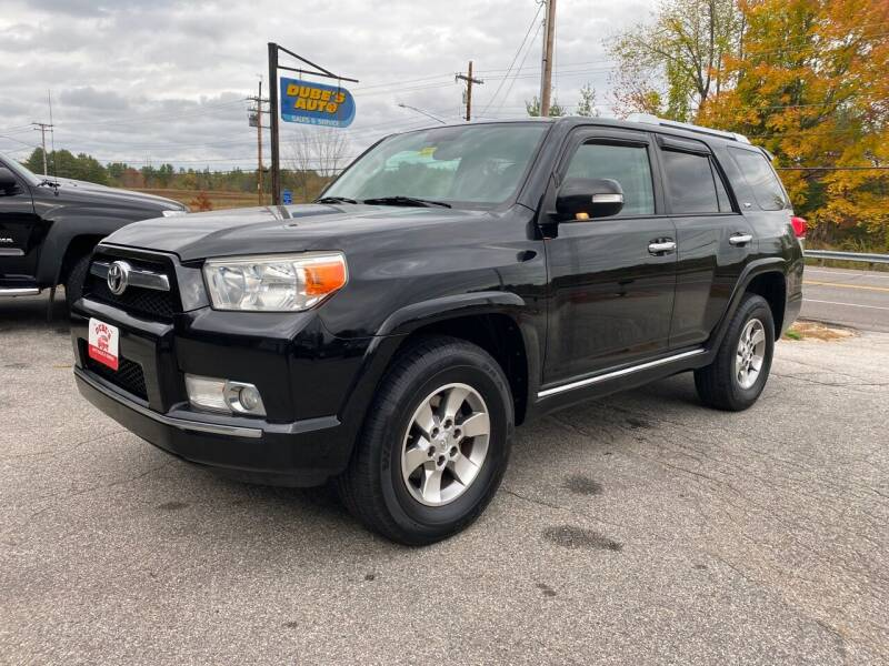 2011 Toyota 4Runner for sale at Dubes Auto Sales in Lewiston ME