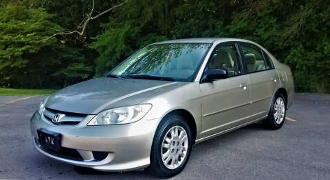 2005 Honda Civic for sale at Brian's Auto Mart in Greenbrier TN