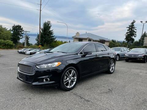 2015 Ford Fusion for sale at KARMA AUTO SALES in Federal Way WA