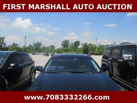 2005 Cadillac CTS for sale at First Marshall Auto Auction in Harvey IL