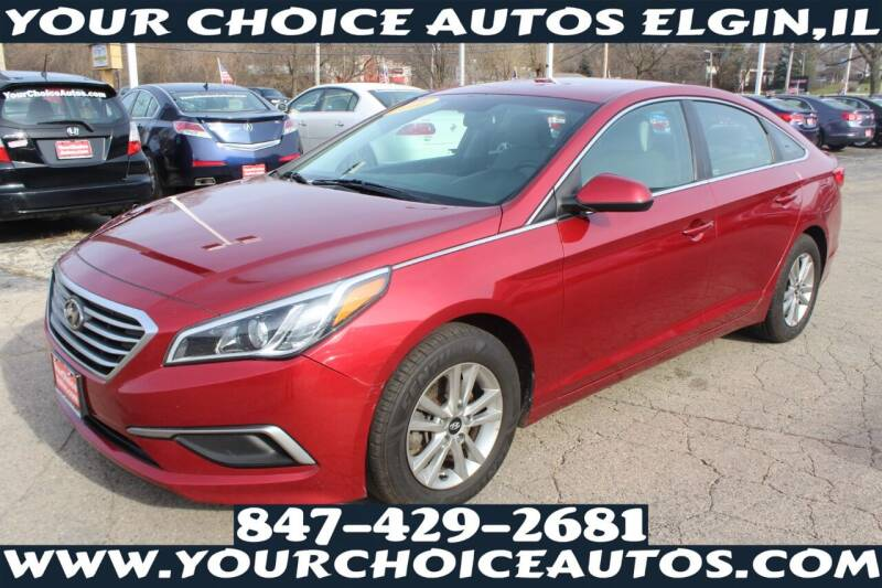 2016 Hyundai Sonata for sale at Your Choice Autos - Elgin in Elgin IL
