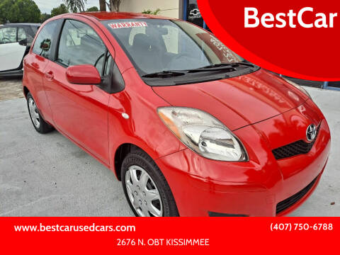 2011 Toyota Yaris for sale at BestCar in Kissimmee FL