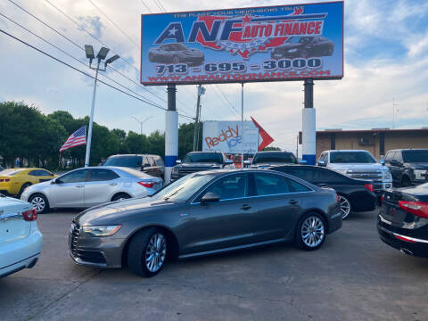2012 Audi A6 for sale at ANF AUTO FINANCE in Houston TX