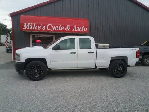 2017 Chevrolet Silverado 1500 for sale at MIKE'S CYCLE & AUTO in Connersville IN