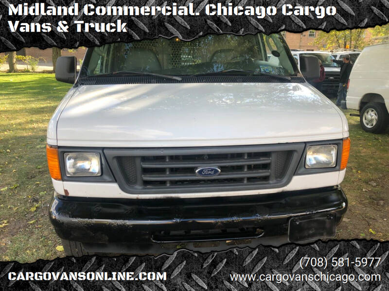 2005 Ford E-Series Cargo for sale at Midland Commercial. Chicago Cargo Vans & Truck in Bridgeview IL