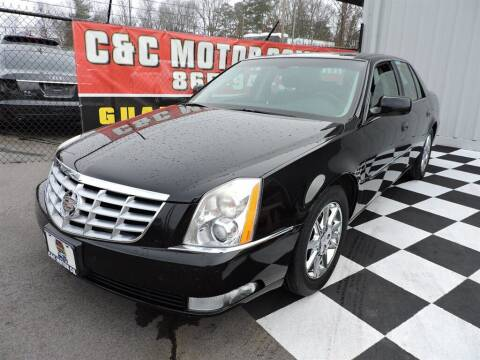 2011 Cadillac DTS for sale at C & C Motor Co. in Knoxville TN