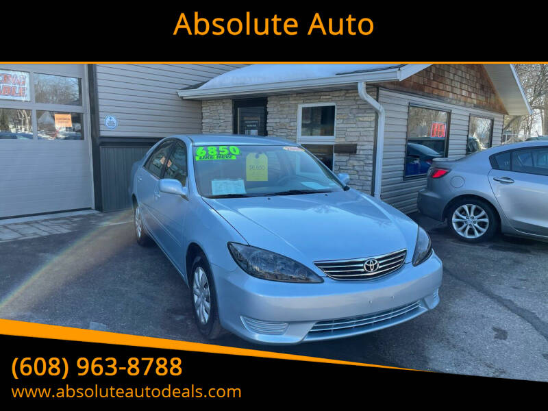 2006 Toyota Camry for sale at Absolute Auto in Baraboo WI