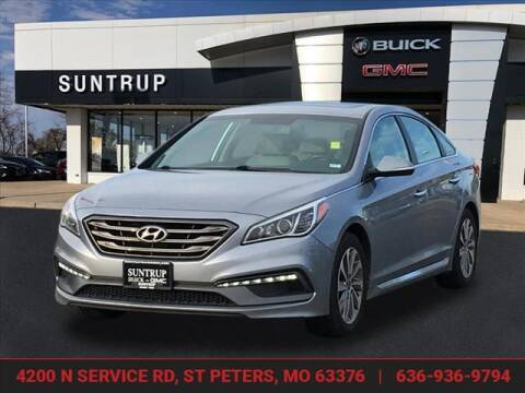 2017 Hyundai Sonata for sale at SUNTRUP BUICK GMC in Saint Peters MO