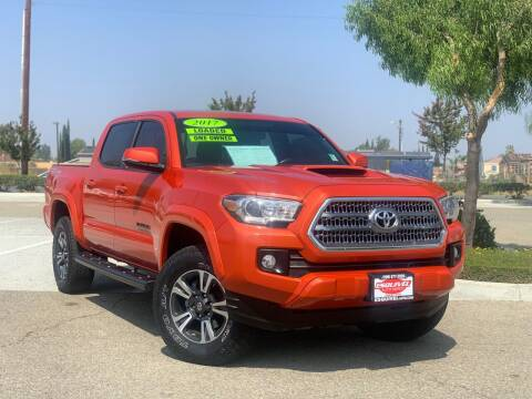 2017 Toyota Tacoma for sale at Esquivel Auto Depot in Rialto CA