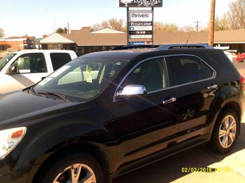 2011 Chevrolet Equinox for sale at Alpha Auto - Mitchell in Mitchel SD