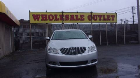 2013 Buick LaCrosse for sale at LONG BROTHERS CAR COMPANY in Cleveland OH