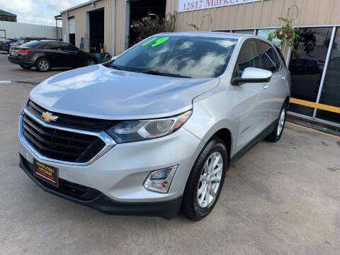 2019 Chevrolet Equinox for sale at Market Street Auto Sales INC in Houston TX