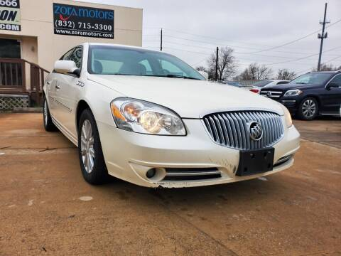 2011 Buick Lucerne for sale at Zora Motors in Houston TX