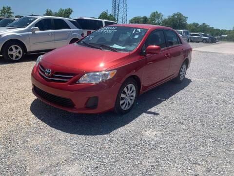 2013 Toyota Corolla for sale at Bayou Motors Inc in Houma LA