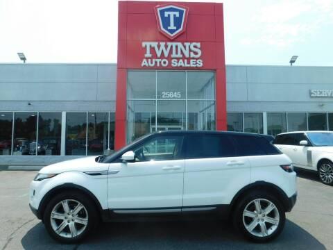 2015 Land Rover Range Rover Evoque for sale at Twins Auto Sales Inc Redford 1 in Redford MI