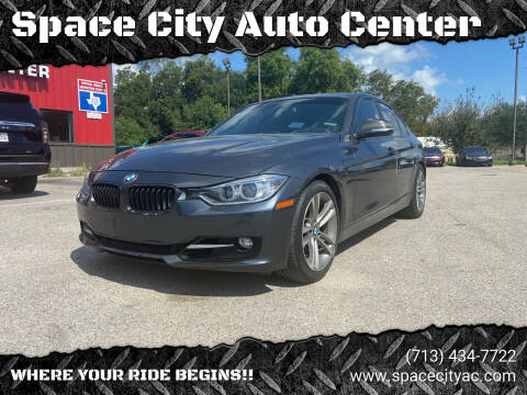 2013 BMW 3 Series for sale at Space City Auto Center in Houston TX