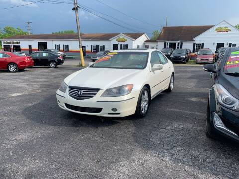 2005 Acura RL for sale at Credit Connection Auto Sales Dover in Dover PA