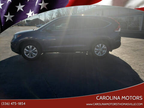 2013 Honda CR-V for sale at CAROLINA MOTORS in Thomasville NC