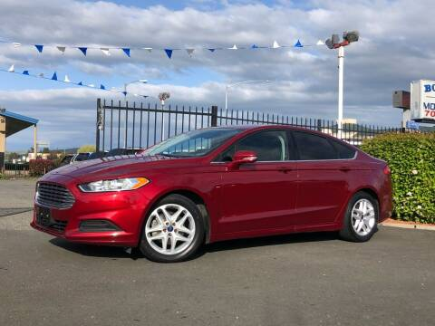 2016 Ford Fusion for sale at BOARDWALK MOTOR COMPANY in Fairfield CA