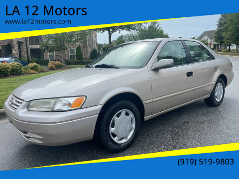1998 Toyota Camry for sale at LA 12 Motors in Durham NC
