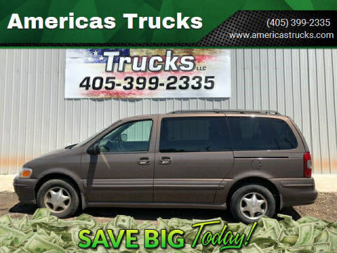 1999 Oldsmobile Silhouette for sale at Americas Trucks in Jones OK