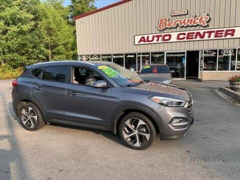 2016 Hyundai Tucson for sale at North Berwick Auto Center in Berwick ME