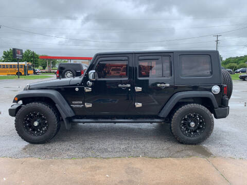 2010 Jeep Wrangler Unlimited for sale at Smooth Solutions 2 LLC in Springdale AR