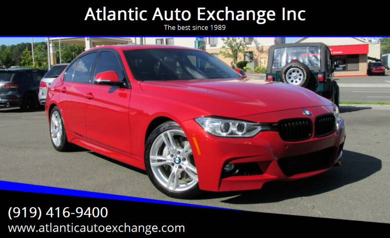2015 BMW 3 Series for sale at Atlantic Auto Exchange Inc in Durham NC