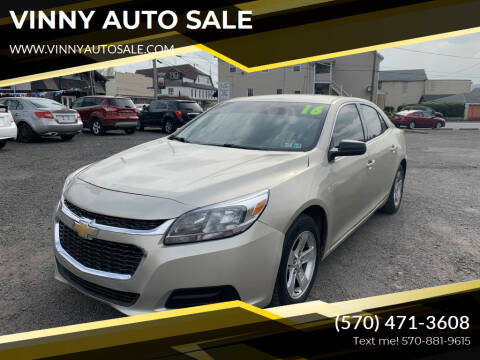 2016 Chevrolet Malibu Limited for sale at VINNY AUTO SALE in Duryea PA