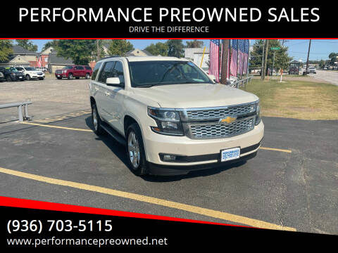 2015 Chevrolet Tahoe for sale at PERFORMANCE PREOWNED SALES in Conroe TX
